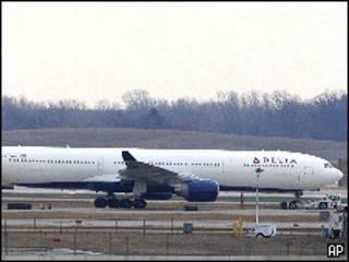 Самолет, на котором произошел инцидент