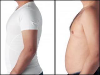 Camiseta para homens da linha Bodymax (Foto PA)