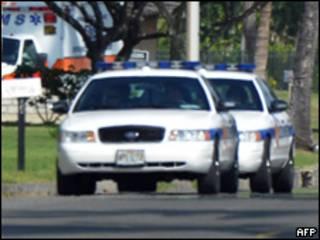 Auto patrullero en EE.UU.
