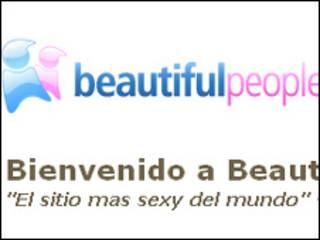 Sitio de BeautifulPeople.com