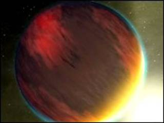 Экзопланета (фото НАСА)