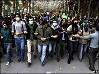 Демонстрация студентов в Иране