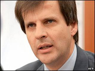 Martin Redrado, director del Banco Central argentino