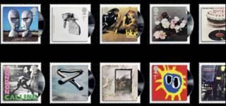 Рок-альбомы как марки