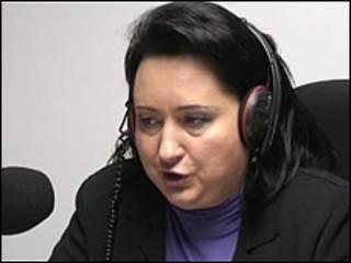 Людмила Супрун у студії Бі-Бі-Сі