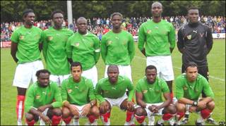 Togo team at CAN 2010