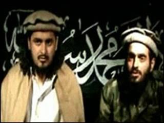 Hakimullah Mehsud bersama Humam Khalil