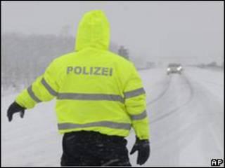 Поліція на німецьких дорогах