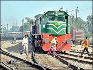 فائل فوٹو، پاکستان ریل وے
