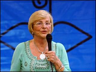 A médica sanitarista Zilda Arns durante lançamento da Campanha da Fraternidade de 2008 (Foto: Marcello Casal/Abr)