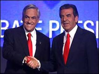 Sebastian Piñera e Eduardo Frei