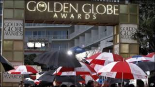 Вывеска церемонии Golden Globe Awards