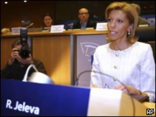 Румяна Желева на слушаниях в Европарламенте