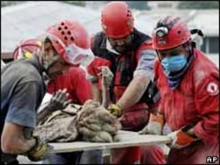 Un equipo de mexicanos rescata a Ena Zizi, 19 Jan (ACT Alliance Photo)