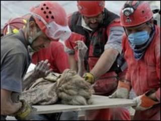 Resgate de Ena Zizi (foto: ACT Alliance Photo)