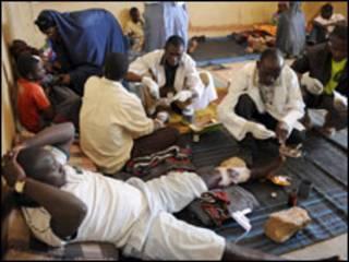 Wasu marasa lafiya da ake jinya a Nijeria
