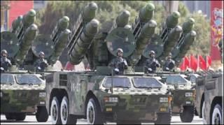 Tên lửa trong lễ duyệt binh nhân Quốc khánh Trung Quốc