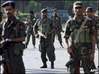 श्रीलंका के सैनिक