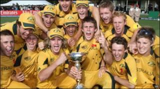 विश्व कप विजेता ऑस्ट्रेलियाई टीम