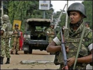 श्रीलंका में सुरक्षा