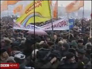 Митинг в Калининграде 30 января 2010 года