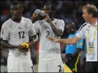 'yan kwallon Ghana
