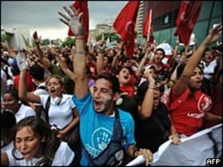 Protestas por el cierre de RCTV
