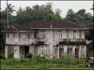 ဒေါ်အောင်ဆန်းစုကြည်ရဲ့နေအိမ်