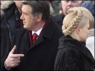 Ющенко і Тимошенко