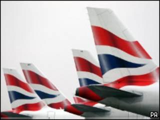 Самолеты British Airways