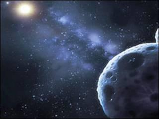 Plutão (aqui fotografado pelo Observatório Espacial Hubble) é o maior KBO de que se tem conhecimento