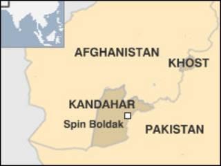 Peta wilayah Afghanistan