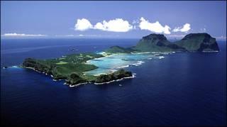 Ilha Lord Howe, na Austrália (foto: Lord Howe Island Tourism Association)