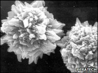 Наночастицы с шипами