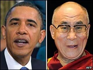 Obama và Dalai Lama