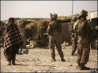 Soldados americanos no Afeganistão