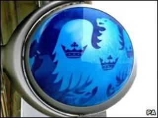 Logo ngân hàng Barclays