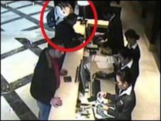 عکسی که دوبی از مظنونان منتشر کرده است