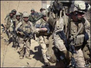 نیروهای آیساف در عملیات مشترک