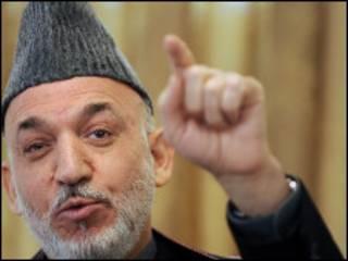 Hamid Karzai (arquivo)