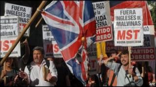 Демонстрация в Буэнос-Айресе