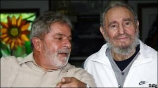 Лула и Фидель