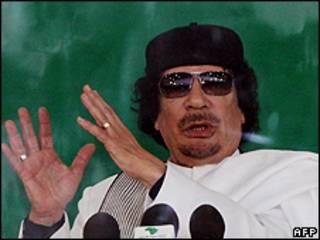 Shugaba Ghaddafi