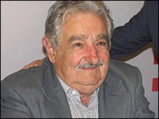 Presidente electo de Uruguay José Mujica.