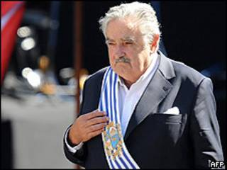 O presidente do Uruguai, José Mujica