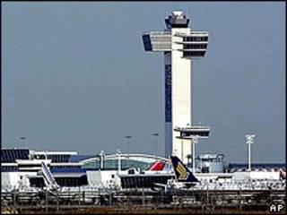 Башня авиадиспетчеров аэропорта имени Кеннеди