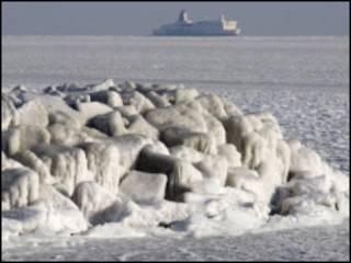 Лед на Балтике