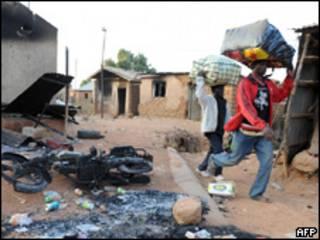 Violencia sectaria en Nigeria en enero pasado