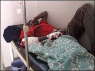 یکی از مجروحان حمله یکشنبه در نزدیکی جوس