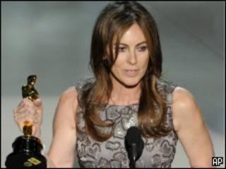 La directora de cine estadounidense Kathryn Bigelow